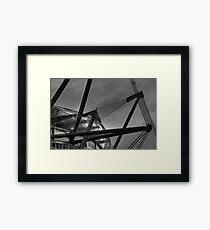 ETIHAD STADIUM Framed Print