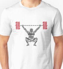 Camiseta unisex Crossfit - palabras de arrebato