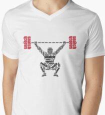 Crossfit - Snatch Words Men's V-Neck T-Shirt