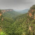 Valley of the Waters Panorama by Michael Matthews