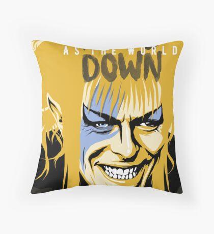 As the World Falls Down Throw Pillow