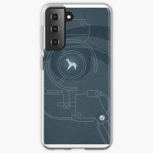 BLADE RUNNER (Version d'essai de Voight Kampf) Coque souple Samsung Galaxy
