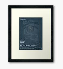 BLADE RUNNER (Voight Kampf Test Version) Framed Print