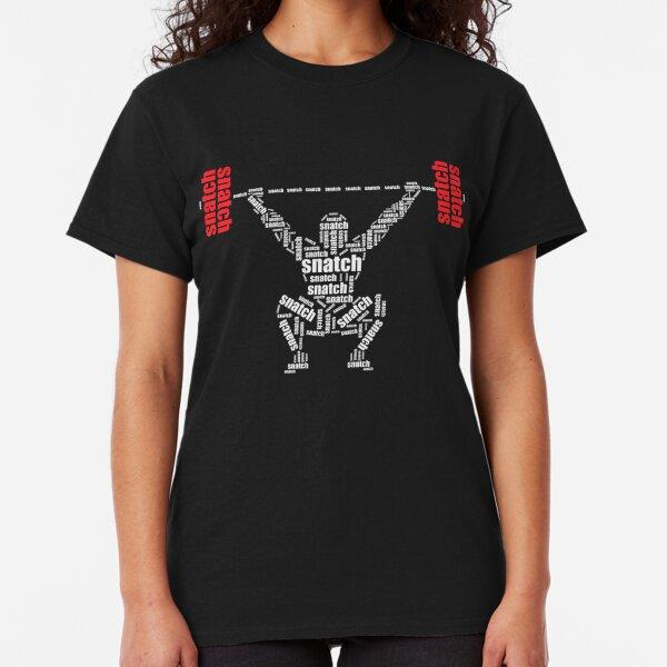 Crossfit - Snatch Wörter dunkles Hemd Classic T-Shirt