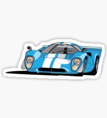 Lola T70 MKIII - Blue Sticker