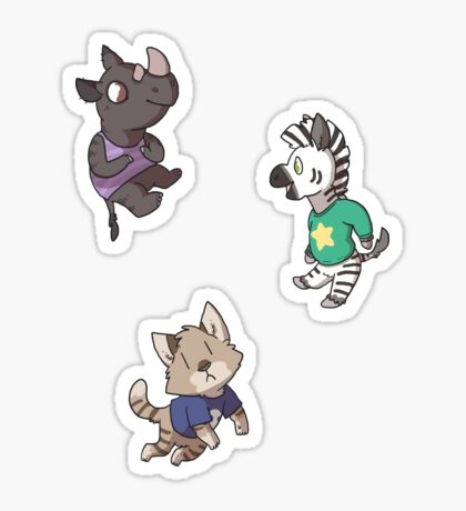 Villagers Sticker