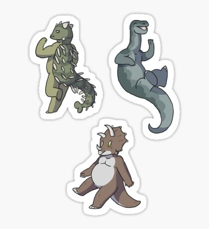 Mini Dinosaurs 2 Sticker