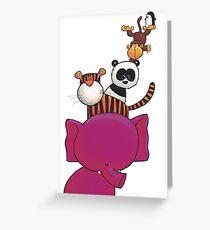 Splatter Stack Greeting Card