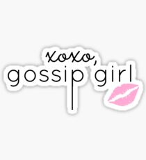 Gossip Girl design Sticker