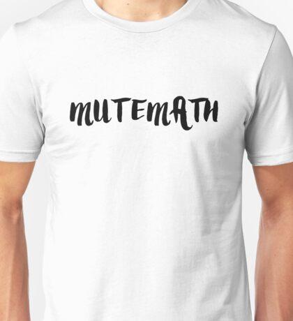 MUTEMATH Unisex T-Shirt