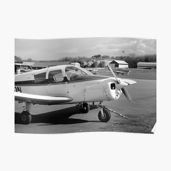 Aviation - Piper Pa-28-140 Cherokee Poster