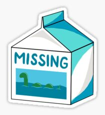 Missing!  Sticker