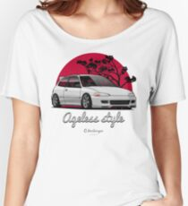 Ageless Style Civic EG (white or grey) Women's Relaxed Fit T-Shirt