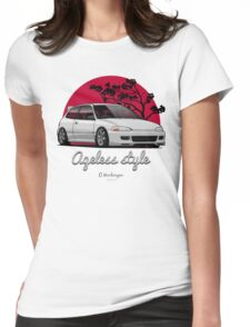 Ageless Style Civic EG (white or grey) Womens Fitted T-Shirt