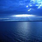 Sunrise over Lake Léman, Switzerland by Marilyn Grimble