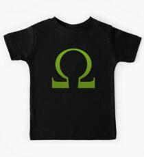 Green Ohm Symbol T Shirt Kids Tee
