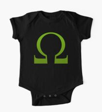 Green Ohm Symbol T Shirt One Piece - Short Sleeve