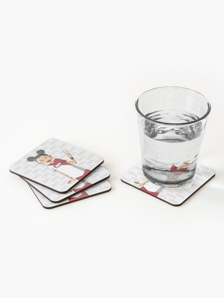 Alternate view of DOPE Coasters (Set of 4)