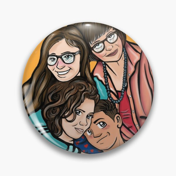 One Day At A Time Fan Art Pin