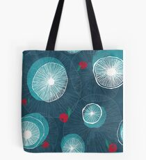 Mushrooms and berries Tote Bag