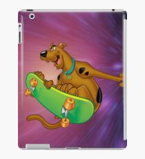 scooby on the board iPad Case/Skin