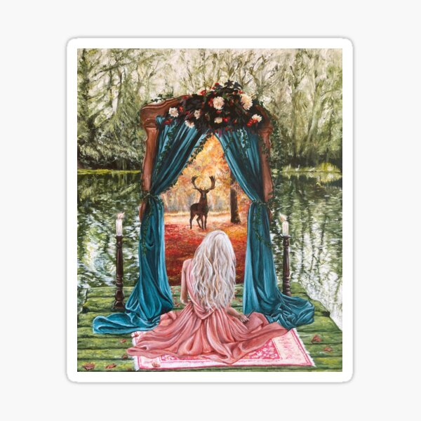 Portal - Gateway to Another Time and Place - Witchcraft Painting Sticker