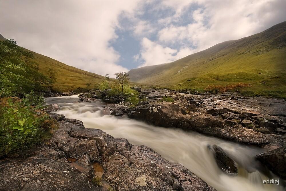 River Etive -  Scotland by eddiej