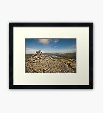 Cairn at Blea Crag Framed Print