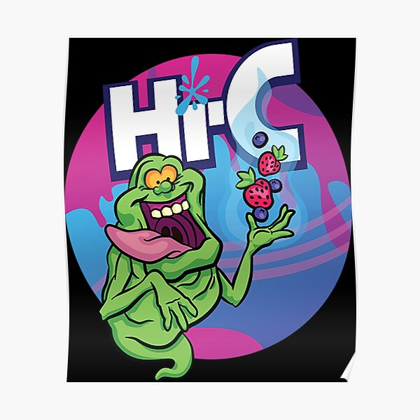 Ecto Cooler Goo Berry (Variant) Poster