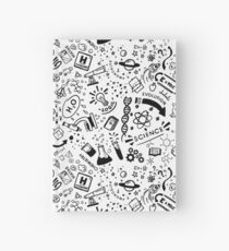 Science all over! Hardcover Journal