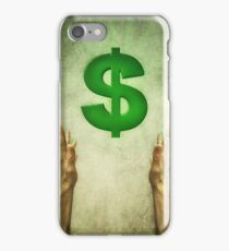 dollar sign iPhone Case/Skin