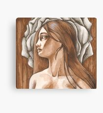 Love in the form of Roses - Aphrodite's Roses Canvas Print