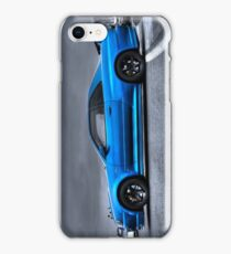 The Blue Ghost iPhone Case/Skin