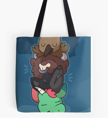 Mythical heads 2 Tote Bag