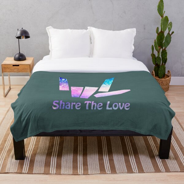Share The Love  Throw Blanket