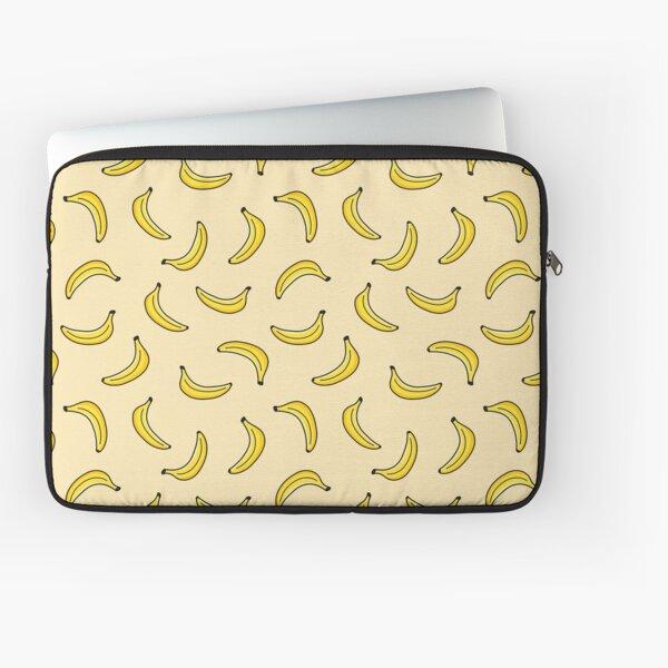 Yellow Banana Pattern Laptop Sleeve