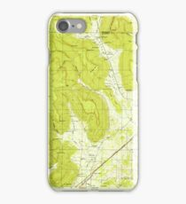 USGS TOPO Map Alabama AL Doran Cove 303697 1950 24000 iPhone Case/Skin
