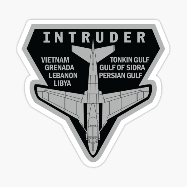 INTRUDER MISSIONS Sticker