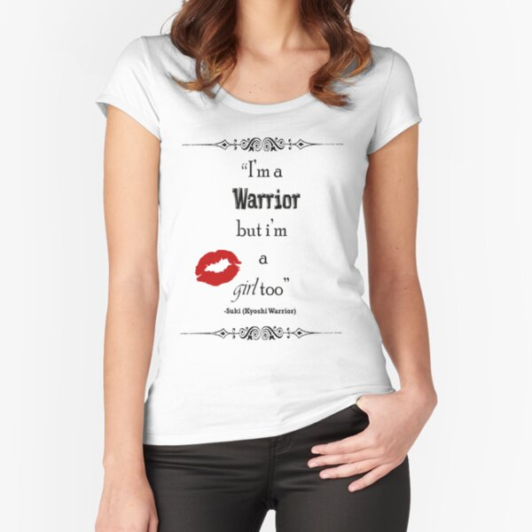 Warrior Fitted Scoop T-Shirt