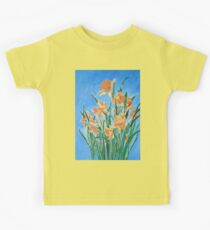 Golden Daffodils Kids Tee