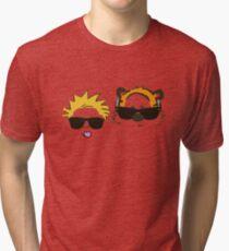 calvin and hobbes sunglasses Tri-blend T-Shirt