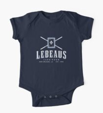 Lebeau's Card Room - New Orleans, LA One Piece - Short Sleeve