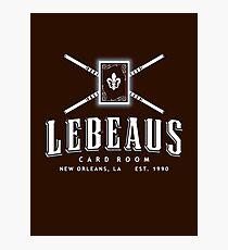 Lebeau's Card Room - New Orleans, LA Photographic Print