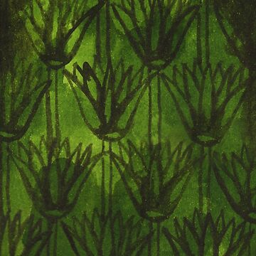 Inky Papyrus Green by ImogenSmid
