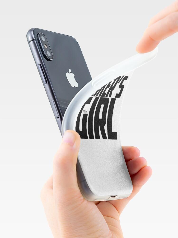 Alternative Ansicht von Riker's Girl - Schwarz iPhone-Hülle & Cover