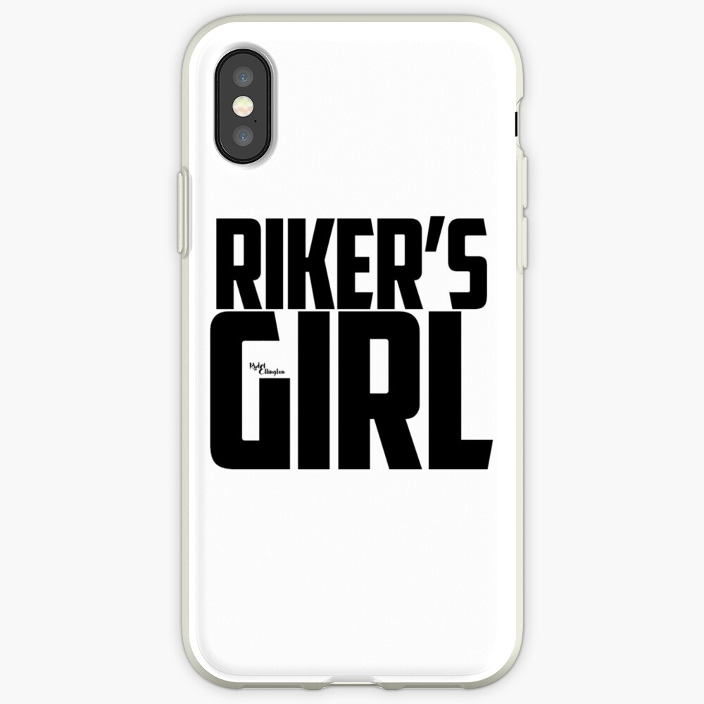 Riker's Girl - Schwarz iPhone-Hülle & Cover