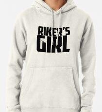 Riker's Girl - Schwarz Hoodie