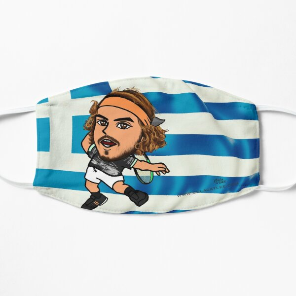Stefanos Tsitsipas  Flat Mask