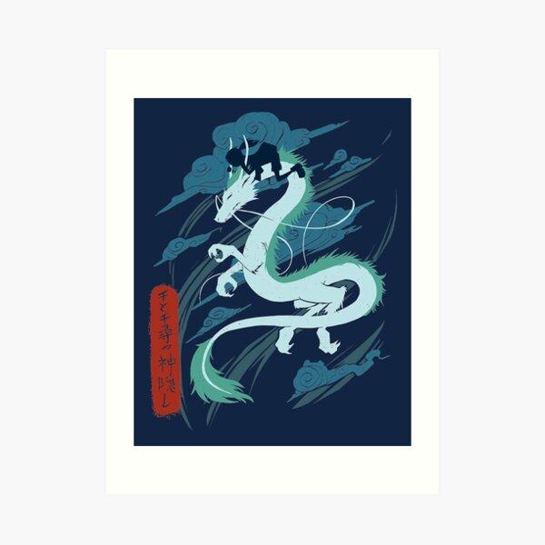 Dragon Lámina artística