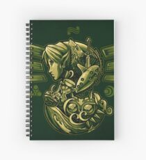 The Journey of Courage Spiral Notebook
